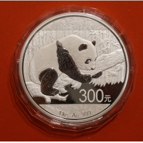 2016 Panda 1kg silver china coin