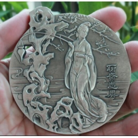 Central Academy 2017 arts mast's works Liaozhai silver medal