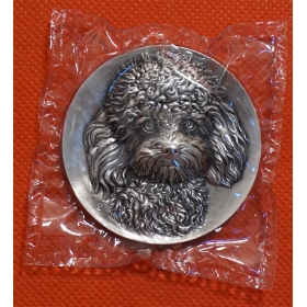 Shanghai BAPO 2016 Teddy dogs 121g silver China Coin Medal