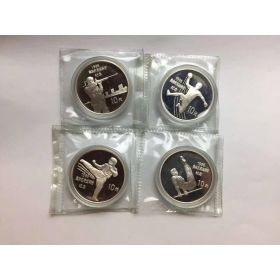 The 1996 Summer Olympic Games silver coins 4 a full set