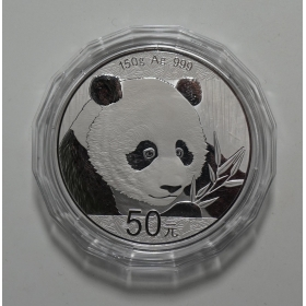 2018 panda 150g silver Proof China Coin