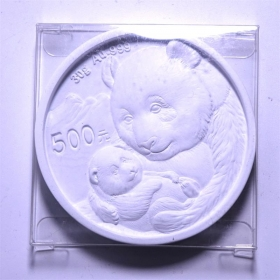 CGCI 2019 panda 30g Gold coin 70mm plaster decoration Medal